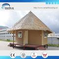 ouragan preuve bungalow en bois de l'eau