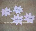 personalizada etiquetas colgantes de papel