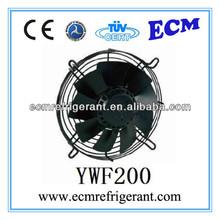 ywf200 axial de la serie del evaporador de ca motor del ventilador