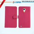 Colorido cierre magnético PU de cuero y plástico Card Slots Diseño coloca la cubierta del teléfono móvil para Samsung i9500