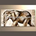 venta al por mayor hecho a mano excelente pintura de animales de elefante