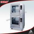 Eléctrica comercial de pollo asado máquina/máquina de pollo tostado/de gas asador de pollo