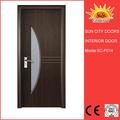 Pas cher et de bonne porte en bois de chêne effet de la qualité SC-P003