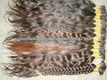 2013 venta de las naciones unidas-Real procesado virginal del pelo humano natural más caliente, pelo crudo, pelo virginal con la