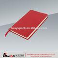 profesional de fábrica personalizada cuaderno de la pu con la muestra libre