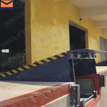10t hidráulica estacionaria rampa de carga para camiones