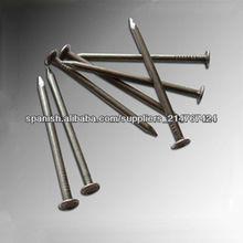 Clavos de hierro, clavos comunes del alambre, clavos de madera