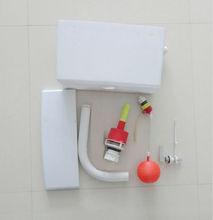 compacto PVC 9 litros de capacidad cisterna con sistema de descarga Dual-Max Hi flo
