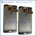 montaje del lcd del teléfono móvil para Samsung n9000 nota galaxia lcd