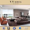 de color marrón con calefacción italiano venta sofá de cuero