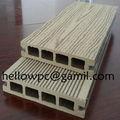 hueco madera compuesta suelo entarimado