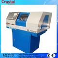 micro pequeñas cnc torno de metal con el manual chucks 4 o herramienta ML210 torreta