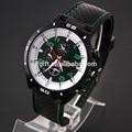 2014 nueva llegada más populares de color rojo de silicio reloj de los hombres con precio al por mayor jr1122