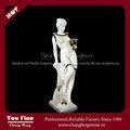 la elegancia moderna mezcla de mármol de la escultura de la mujer