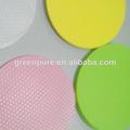 Compare os favoritos coaster eva/forma redonda esteiras copo/barato coaster do copo