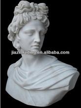 buste en marbre blanc