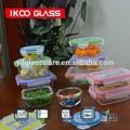 Eco- ambiente de vidrio al por mayor de alimentos contenedor de almacenamiento para mantener la comida caliente
