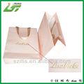 2014 personalizado bolsa de papel comercial, de papel bolso de compras, bolsa de papel con la impresión de estampado en caliente