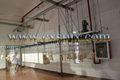 équipements abattoir de volailles/poulet abattage ligne de production/eau engourdi étonnant