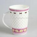 café taza del lindo de porcelana/cerámica