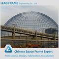 galvanizado de la estructura de la luz de acero estructura de cúpula