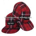 oem e personalizar o chapéu de lã de lable personalizado 5 chapéu painel