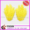 de color amarillo brillante precioso rizado pluma de ganso para cojines diadema para bebés