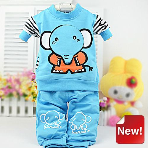 TC5070 2013 nueva llegada de la manera del wholeasale ropa infantil china animales vestidos de civil bebé de impresión