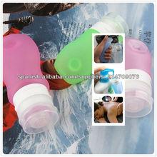 vestirse para ir lindo desinfectante para manos cosméticos contenedor de botellas y frascos de silicona tubo de viaje