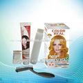 a base de hierbas de tinte para cabello negro natural de tinte para el cabello