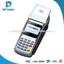 Más barato inalámbrica terminal punto de venta con lector de tarjetas ic, msr, lan( dtpos3510)