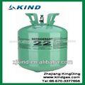 99.9% 13.6kg/30lbs r22 refrigerante disposablen de gas del cilindro