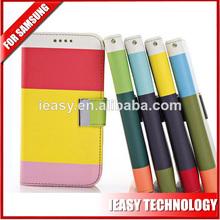 teléfono tapa de la caja para samsung teléfono móvil caso de la cartera para samsung