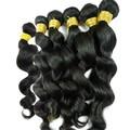 """Para las mujeres negro atractivo profunda ola de color 2# 10-40"""" peruano virgen extensiones de cabello natural"""