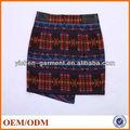 falda de las mujeres colorido de spandex de China para hombres