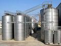 Tanque de almacenamiento líquido de acero inoxidable