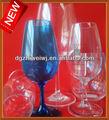 Personnalisé en plastique verre de vin/en plastique verre de vin