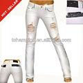 ( #tg367w) conexión francesa del bordado de karachi angeles 2013 nuevo estilo de moda los pantalones vaqueros de las mujeres