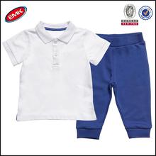 Deporte para niños ropa caliente de la venta de los proveedores en china, los niños polo camiseta y pantalones