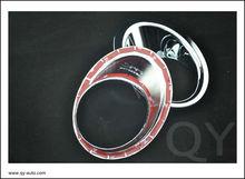 2012 on nissan qashiqai//pestana cromado faro de coches/coches accesorios/es de ABS plasticos y cromo y 3M cinta