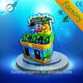 hipopótamo de la moneda operado juego de premio golpear la máquina máquina de juego