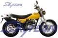 "SKYTEAM V-Raptor 250cc 4 tiempos moto calle (CEE Euro III EURO3 Aprobación 120/80-18 ""/ 180/80-14"")"