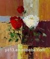 Excelente de la pintura contemporánea ct-339 flor