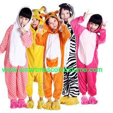 2014 animal lindo onesie baratos pijama niños pijama de los animales