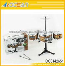 shantou de plástico escritorio de tambor de música de juguete chico jazztambor oc0142651 de juguete