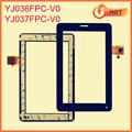 PC de la tableta de tacto de 7 pulgadas de reemplazo de pantalla con conector ic YJ036FPC-V0/YJ037FPC-V0