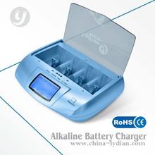 Cargador de batería alcalina para/ni-mh/de ni-cd/aa aaa