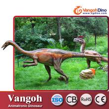 VDG716 animales animatronic dinosaurio diversión animales en resina de tamaño natural