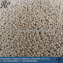 4A de tamiz molecular para la adsorción de metanol