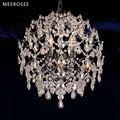 Modern Iluminação Decoração do casamento bola de cristal do candelabro da lâmpada MD3126 L3